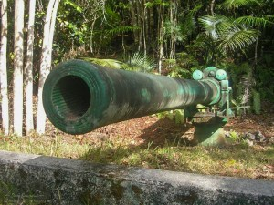 War in the Pacific NHP Piti Guns