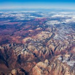 Zion NP from the air