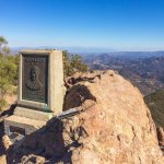 Santa Monica Mountains NRA Sandstone Peak top