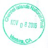 Stamp Channel Islands NP 2016