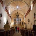 San Antonio Missions NHP San Jose church interior