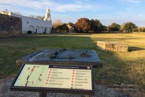 San Antonio Missions NHP San Juan courtyard