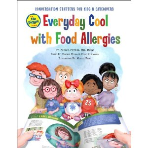 food allergy picture book, The No Biggie Bunch