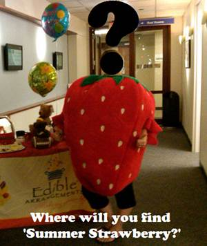 Edible Arrangements, Strawberry Summer, scavenger hunt Edible Arrangements