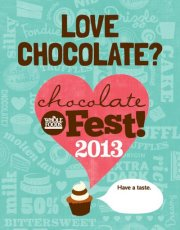 chocolate fest, whole foods newton