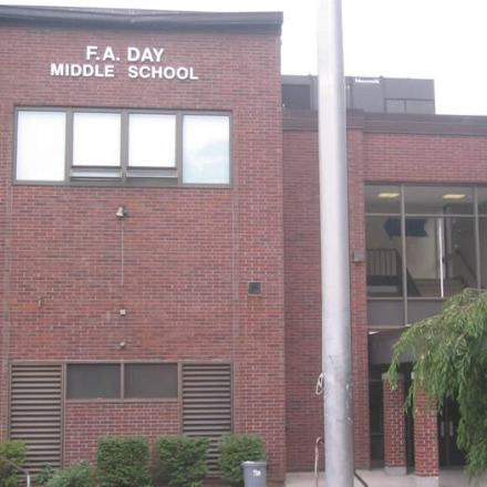 free gym time at Day Middle School, Newton MA, Tuesdays free gym time