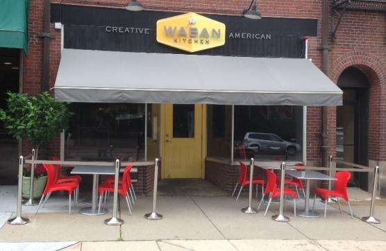 Waban Kitchen patio