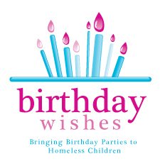 Birthday wishes, birthday parties for homeless children