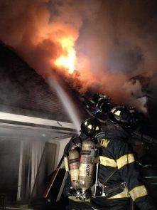 fire in Newton MA