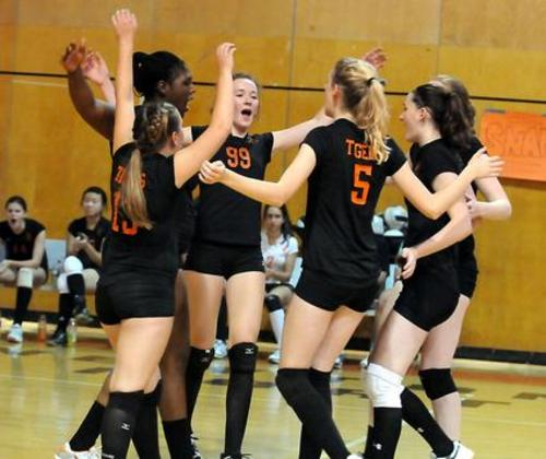 Newton North High School Volleyball Semi Finals