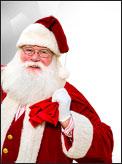 Santa at Prudential Mall Boston