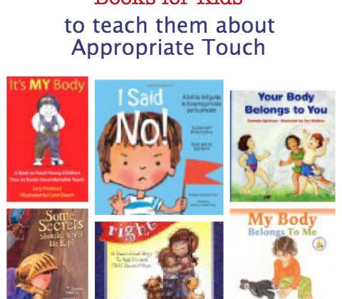 keeping kids safe from inappropriate touch books for kids