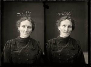 female criminals from 1920 mugshots