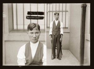 Asian criminals mugshots from 1920s