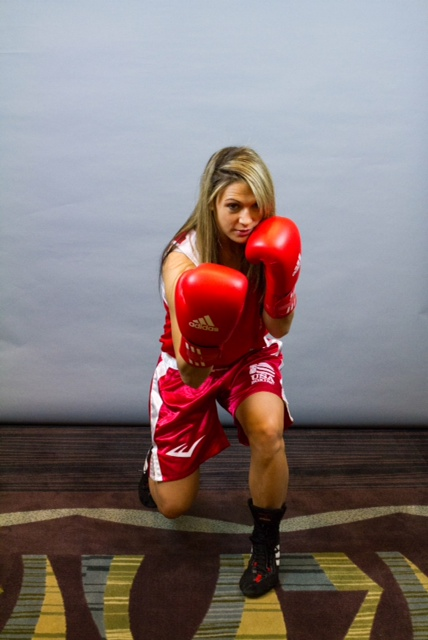 Newton MA Amanda Parvone boxing olympic hopeful