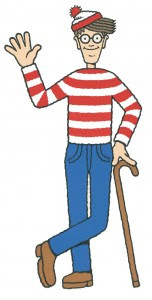 Where's Waldo? In Wellesley!