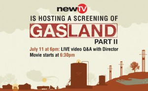 Screening of Gasland Part II at NewTV