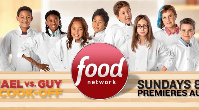 Rachael Ray vs Guy Fieri Kids Cook Off
