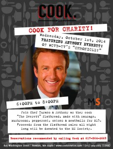 Cook Cooks for Charity with New Celebrity Series