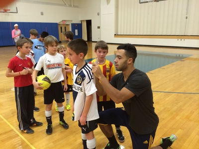 BAOTG Holiday Soccer Clinic with Charlie Rugg of the LA Galaxy