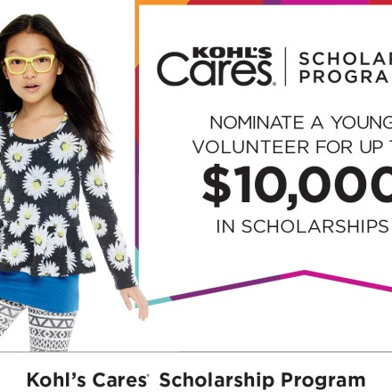 Kohl's Young Volunteer Scholarship Program