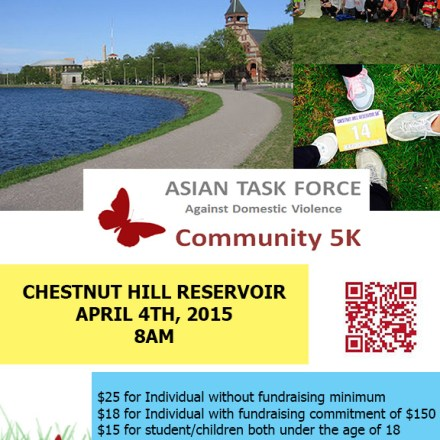 5K for Asian Task Force Against Domestic Violence