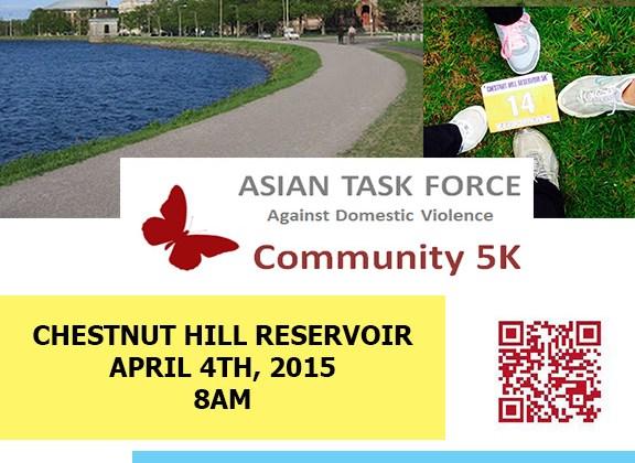 5K for Asian Task Force Against Domestic Violence