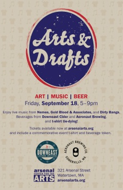 Live Music and Craft Breweries at Arsenal Center for the Arts
