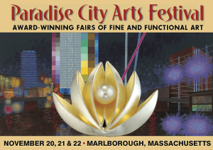 Sharon Schindler at Paradise City Art Show