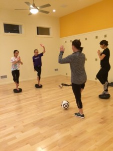 Soccer on the Mat Classes for Girls 11-15