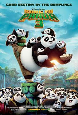 Meet Po from Kung Fu Panda 3