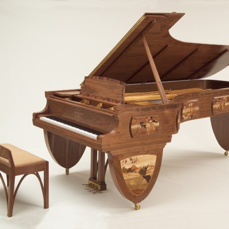 "Iconic ""Walden Woods"" Steinway Piano Finds New Home with Philanthropists"