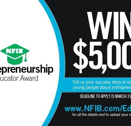 Teachers APPLY for Entrepreneurship Educator Award