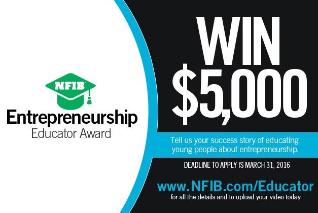 Teachers APPLY for Entrepreneurship Educator Award
