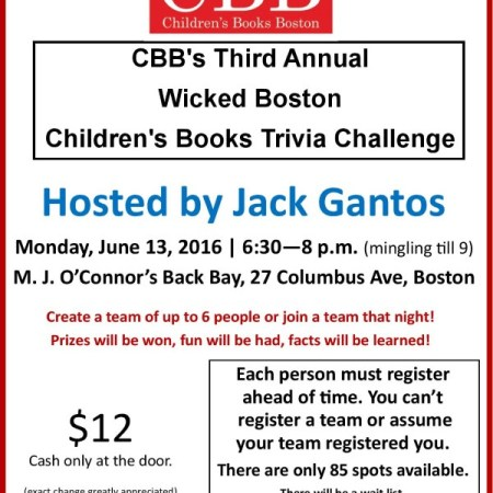 Boston Children's Books Trivia Challenge!