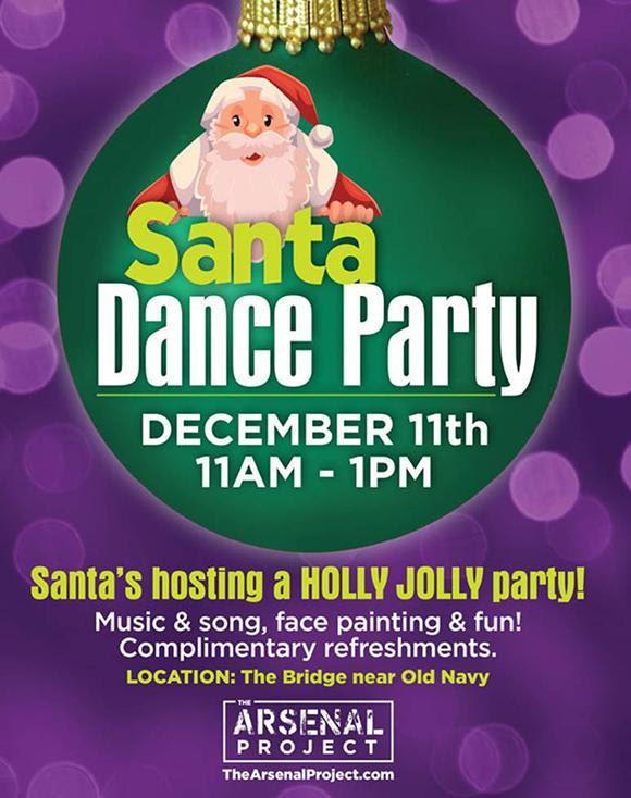 Santa Dance Party in Watertown