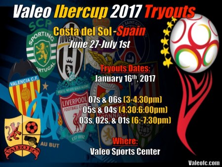 Valeo FC IberCup Tryouts - Spain