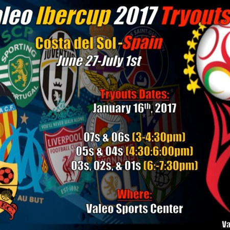 Valeo FC IberCup Tryouts - Spain