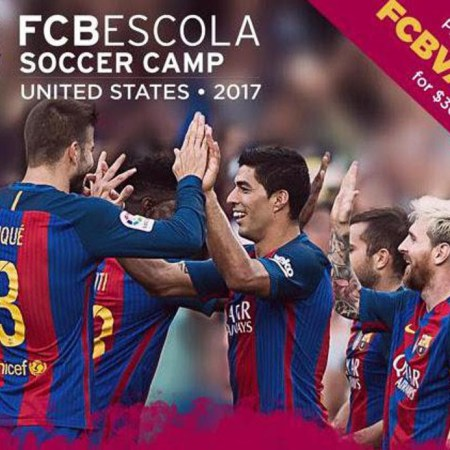FC Barcelona Soccer Camp is coming to Boston!