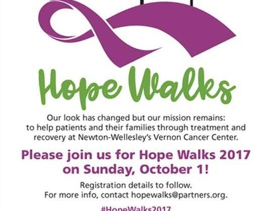 Save the Date for Hope Walks 2017