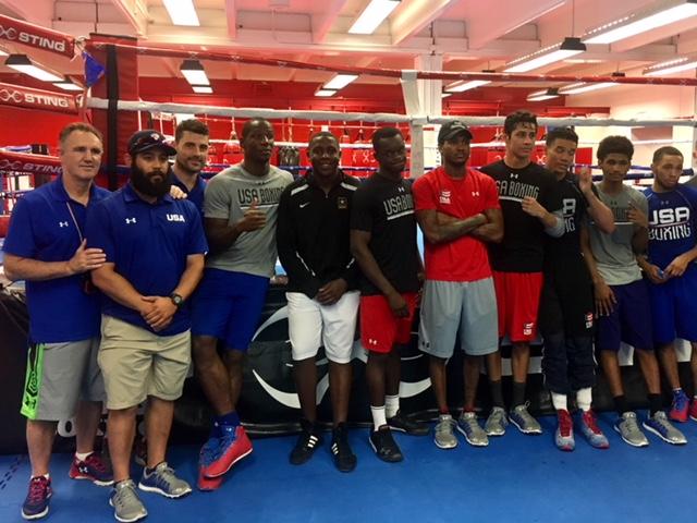 U.S. Elite Men's Boxing Team 2017