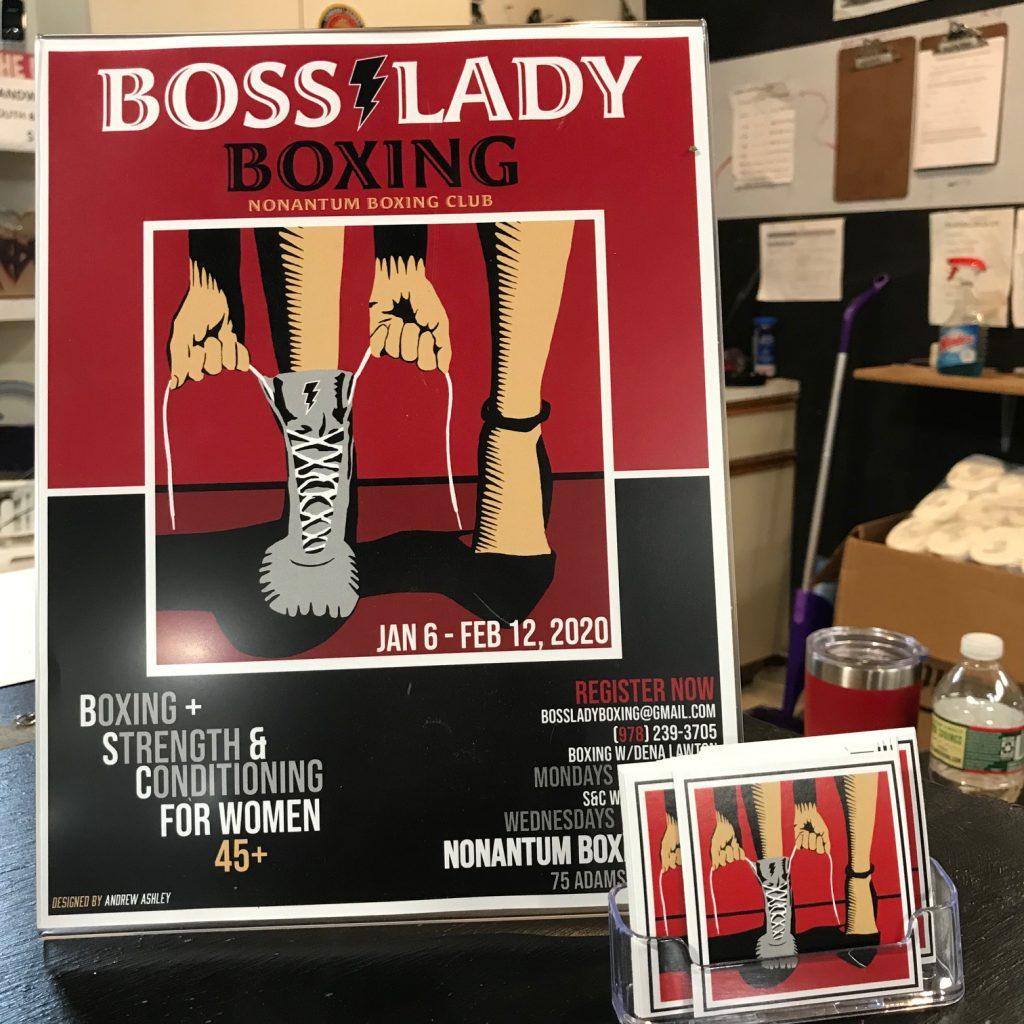 Boss Lady Boxing Dena Lawton