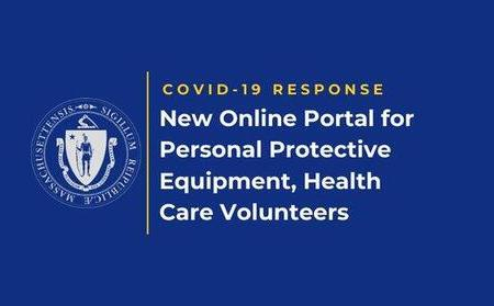 Online Portal for Personal Protective Equipment & Volunteers to Support COVID-19 Outbreak