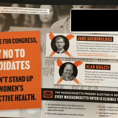 EMILY's List sends out mailer criticizing two Dems on abortion