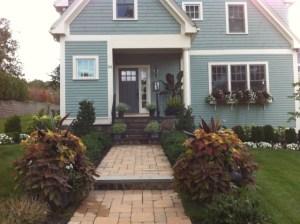 Zoe Forbes Fleuri Garden Design box garden window box arrangements I Love Newton MA