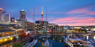 discover viaduct harbour auckland view