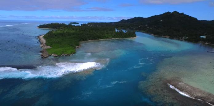 Rarotonga by Drone