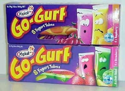 yogurt tubes