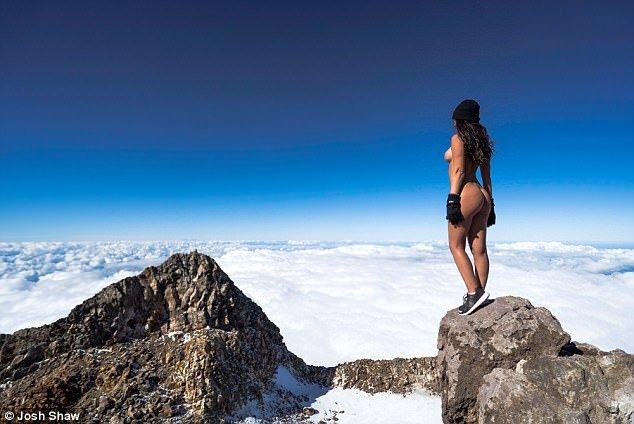 naked summit taranaki josh shaw