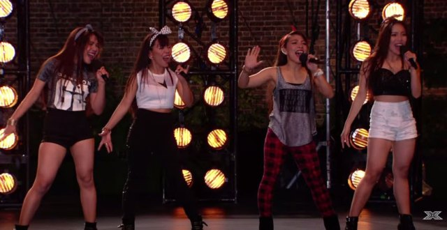 Neneth Lyons and 4th Power Boot Camp on X Factor UK